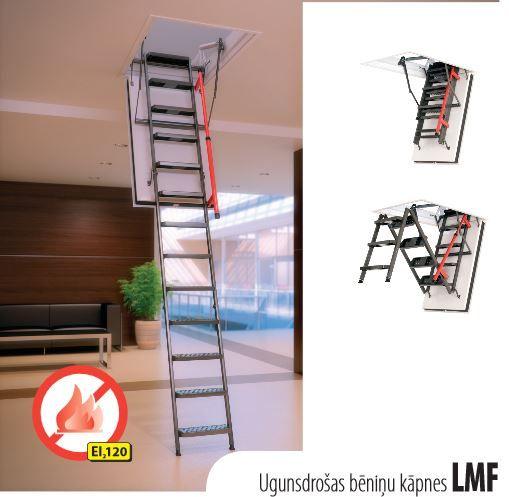 Bēniņu kāpnes LMF EI120 70*130